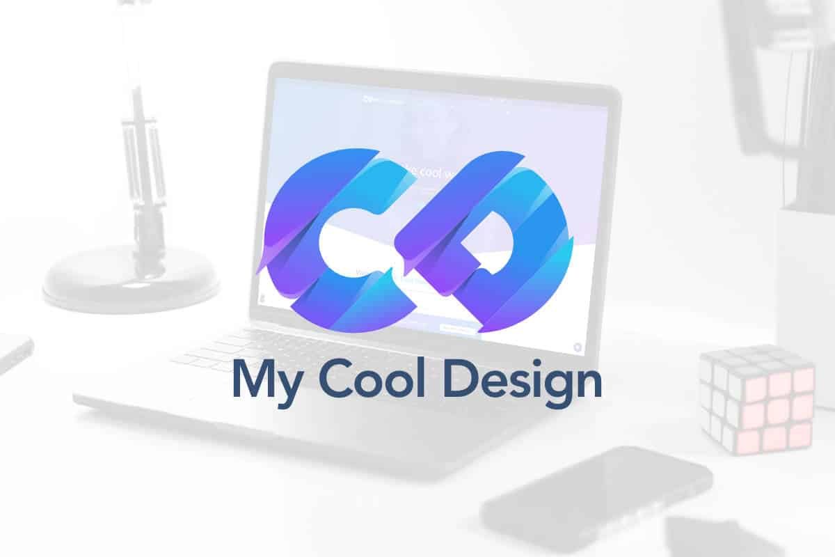 My Cool Design 2020 logo